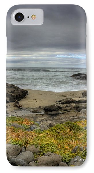 Waldport Beach Beauty IPhone Case by Tyra OBryant