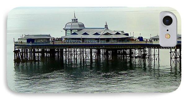IPhone Case featuring the photograph Wales Boardwalk by Joan  Minchak