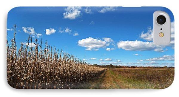 Walk By The Corn Field IPhone Case by Elsa Marie Santoro