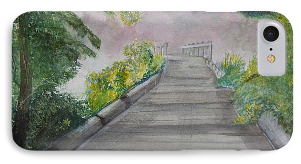 Walk In The Mist IPhone Case by Carole Robins