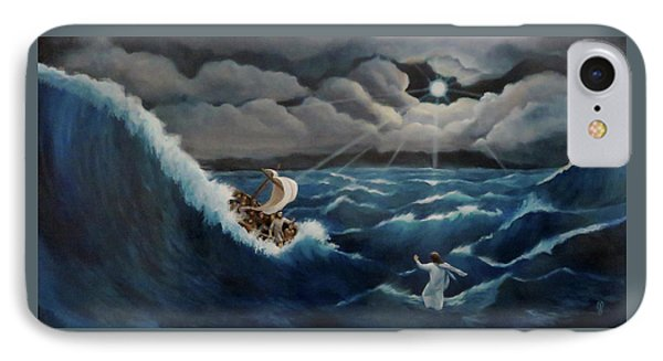 Walk In The Storm IPhone Case by Anita Ann Johnson