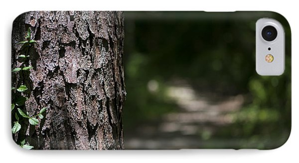 Walk In The Woods IPhone Case by Andrea Silies