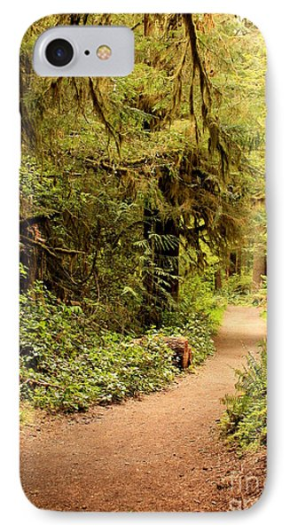 Walk Into The Forest Phone Case by Carol Groenen