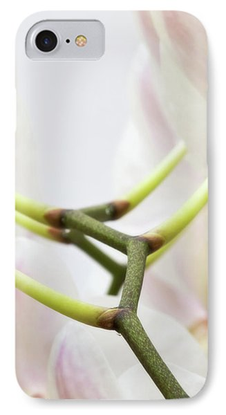 Walk The Orchid IPhone Case by Wim Lanclus