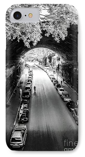 IPhone Case featuring the photograph Walk The Tunnel by Perry Webster