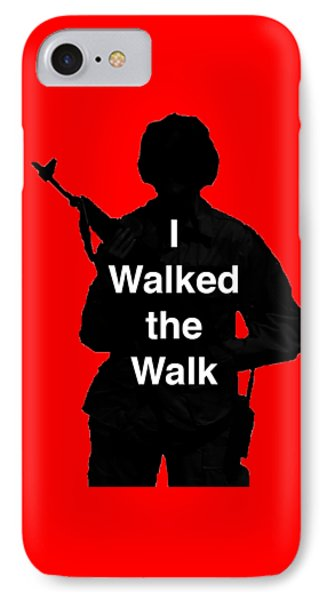 IPhone Case featuring the photograph Walk The Walk by Melany Sarafis