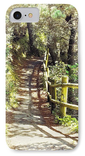 Walk To The Beach IPhone Case by Janie Johnson