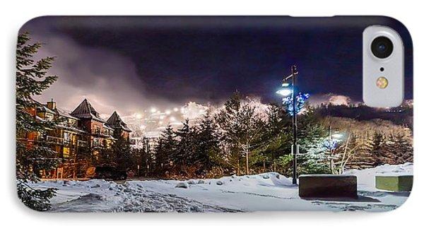 Walk To The Ski Hills Phone Case by Jeff S PhotoArt