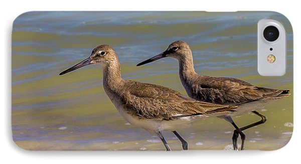 Sandpiper iPhone 7 Case - Walk Together Stay Together by Marvin Spates