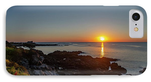 George Bush iPhone 7 Case - Walkers Point - Sunrise In Kennebunkport Maine by Bill Cannon