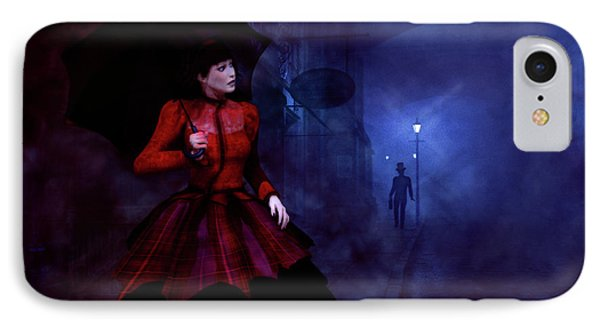 Walking After Midnight IPhone Case by Methune Hively