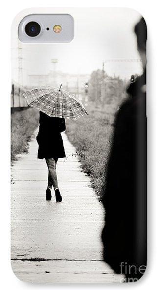 Walking Away IPhone Case by Gabriela Insuratelu