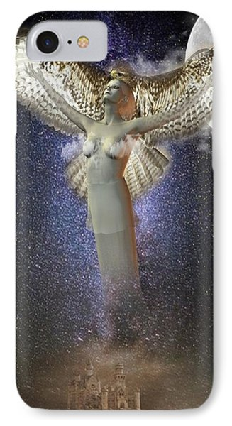Walking In The Air IPhone Case