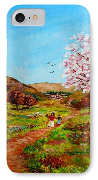 Walking Into The Springfields IPhone Case