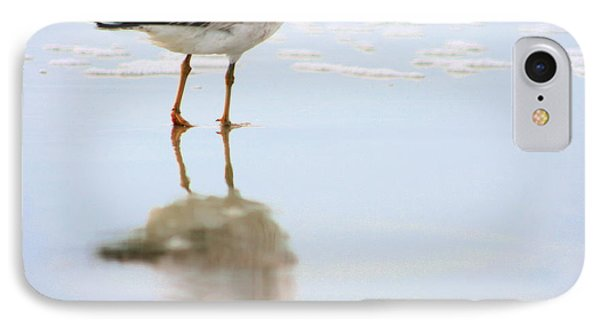 Land Sea And Sky Series Walking On Water IPhone Case by Angela Rath