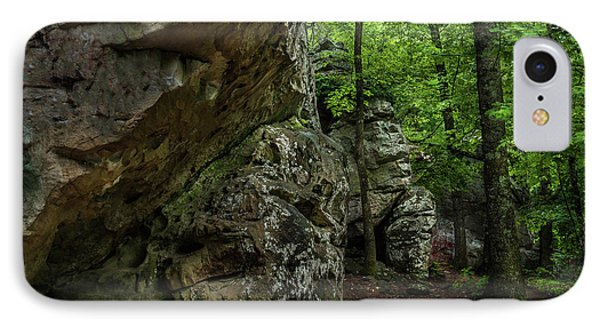Walking Path IPhone Case by Randy Walton