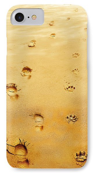 Walking The Dog Phone Case by Mal Bray