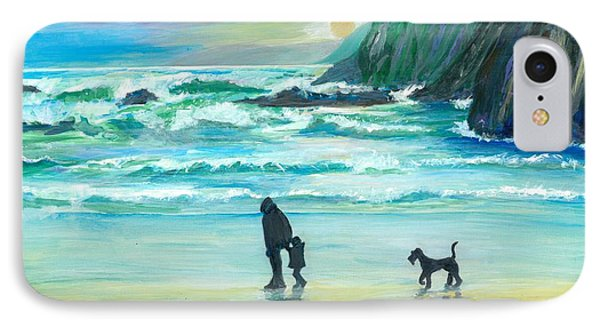 Walking With Grandpa - Painting IPhone Case