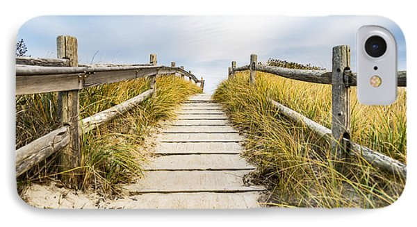 Walkpath To The Beach IPhone Case