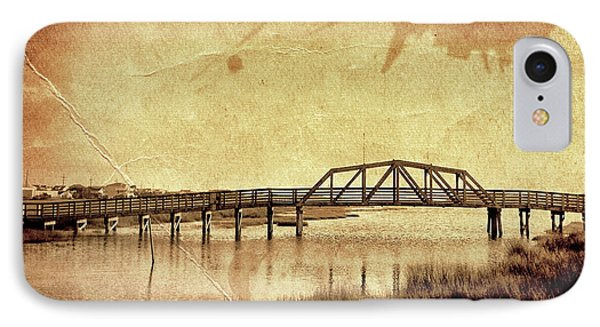 Walkway Over The Sound, Topsail Beach, North Carolina IPhone Case
