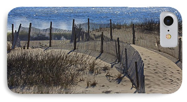 IPhone Case featuring the photograph Walkway To The Beach by Robert Pilkington