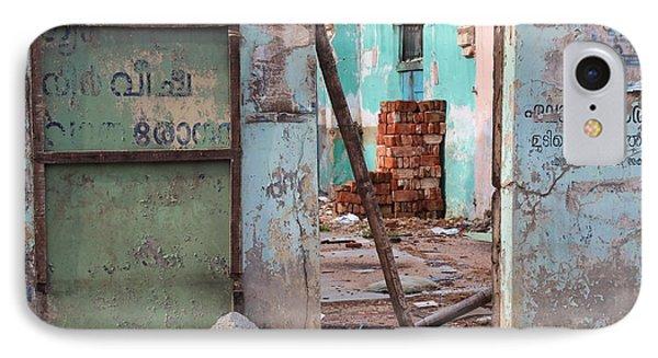 Wall, Door, Open Space In Kochi IPhone Case