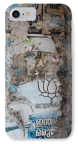Wall In Kochi IPhone Case