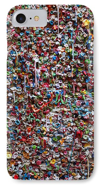 Wall Of Chewing Gum Seattle Phone Case by Garry Gay