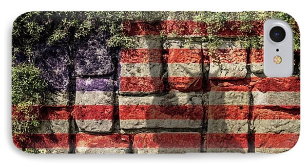 Wall Of Liberty IPhone Case by Wim Lanclus