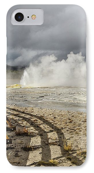 IPhone Case featuring the photograph Wall Of Steam by Sue Smith