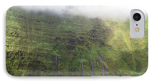 Wall Of Tears At Molokai Island IPhone Case by Stacia Blase