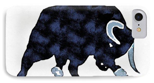Wall Street Bull Market Series 1 IPhone Case by Edward Fielding