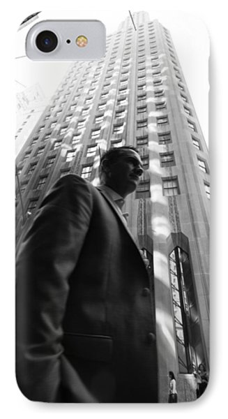 Wall Street Man II IPhone Case