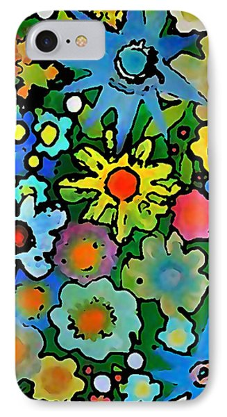 Wallflowers IPhone Case by Gregory McLaughlin