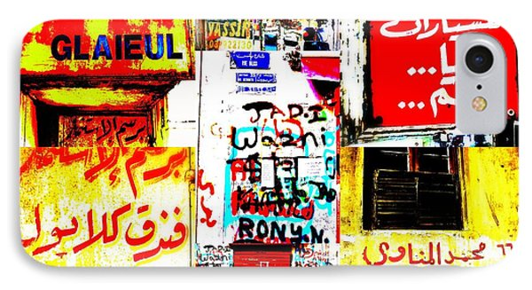 Walls Of Beirut Phone Case by Funkpix Photo Hunter