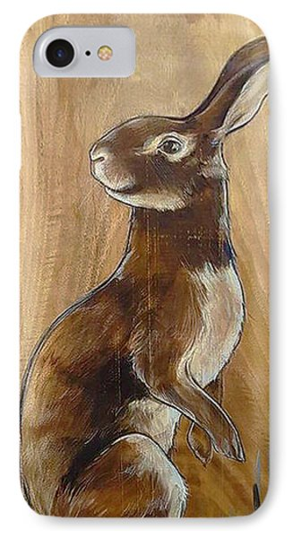 Walnutty Bunny IPhone Case