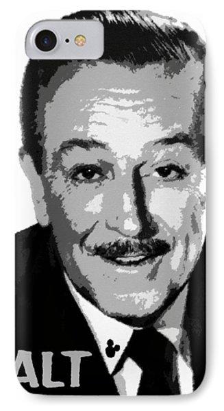 Walt Phone Case by David Lee Thompson