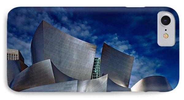 Walt Disney Concert Hall IPhone Case by Anthony Dezenzio