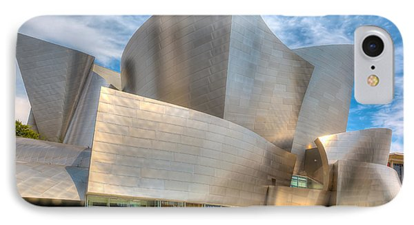 IPhone Case featuring the photograph Walt Disney Concert Hall - Los Angeles by Jim Carrell