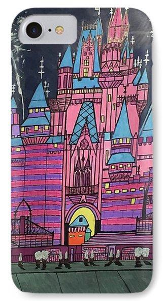 Walt Disney World Cinderrela Castle IPhone Case