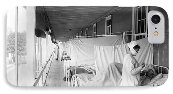 Walter Reed Hospital Flu Ward IPhone Case