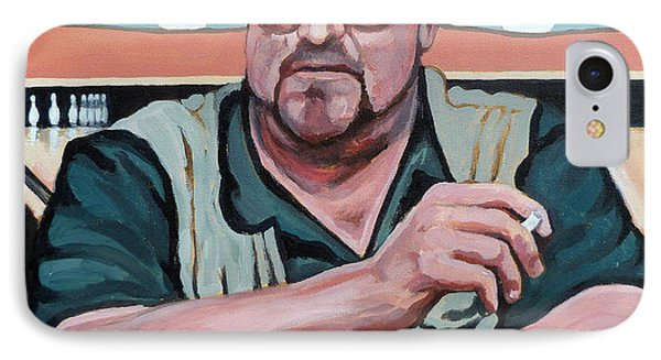 Walter Sobchak IPhone Case by Tom Roderick