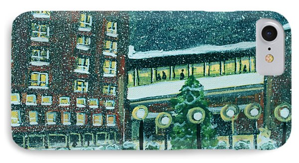 Waltham Hospital On Hope Ave IPhone Case by Rita Brown