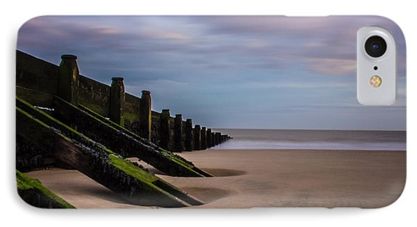 Walton On The Naze Beach IPhone Case by Martin Newman