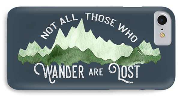Wander IPhone Case