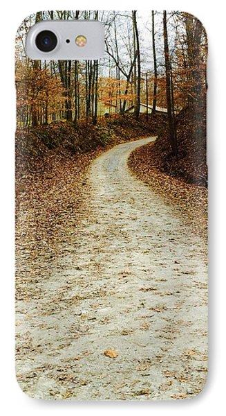 Wandering Road IPhone Case