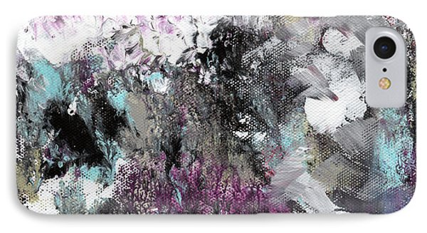 Wanderlust- Abstract Art By Linda Woods IPhone Case by Linda Woods