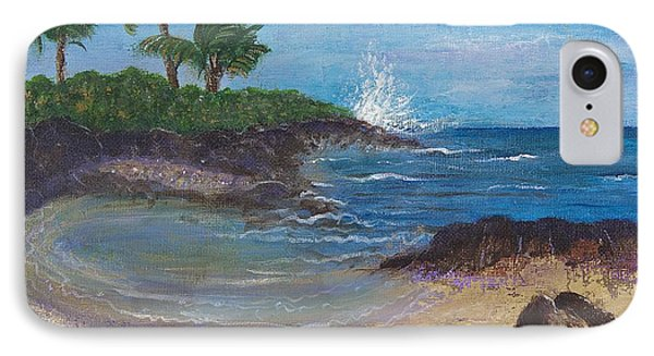 IPhone Case featuring the painting Wanna Go by Margaret Bobb