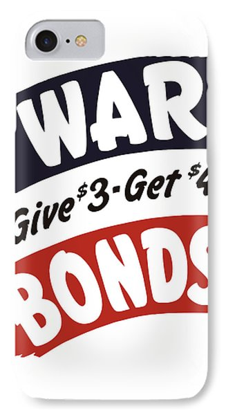 War Bonds Give 3 Get 4 Phone Case by War Is Hell Store