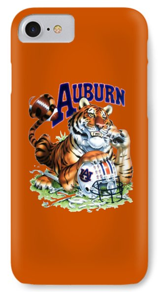 War Eagle  IPhone Case by Herb Strobino